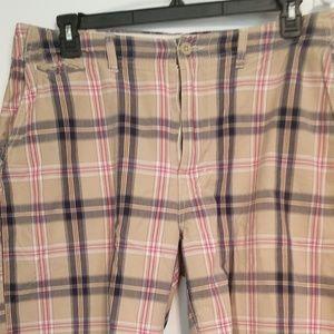 Men's Plaid Shorts